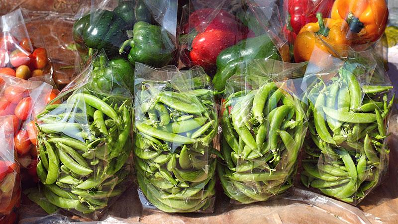 saco de legumes