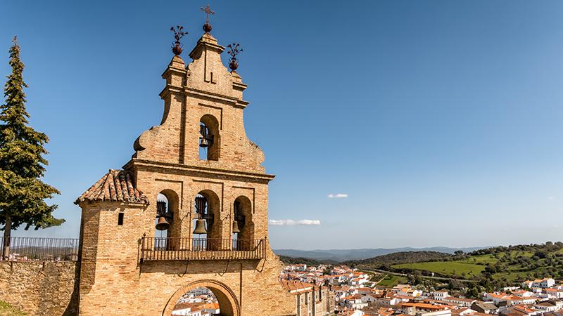 Igreja em Huelva, Espanha
