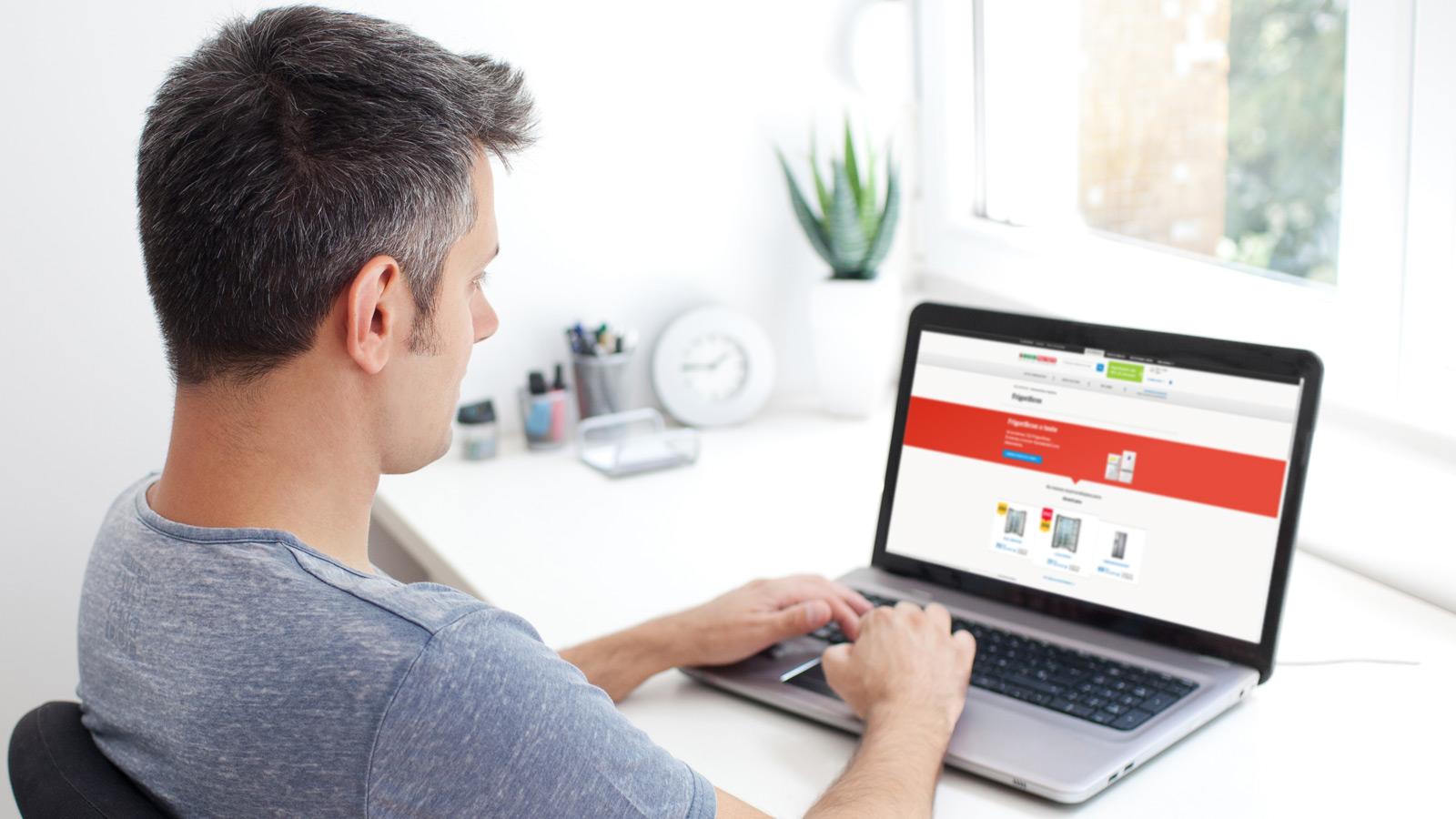 Poupe em produtos e serviços com as novas funcionalidades do site