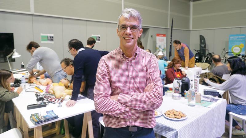 Rafael Calado coordenador do Repair Café