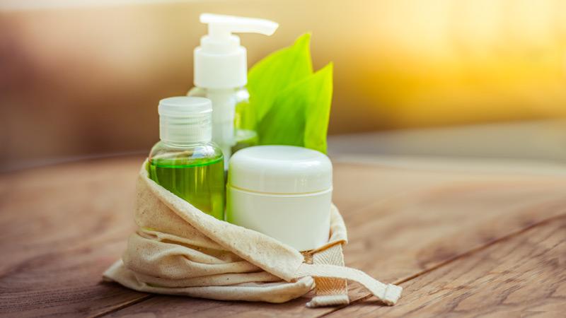 3 embalagens de cosméticos naturais