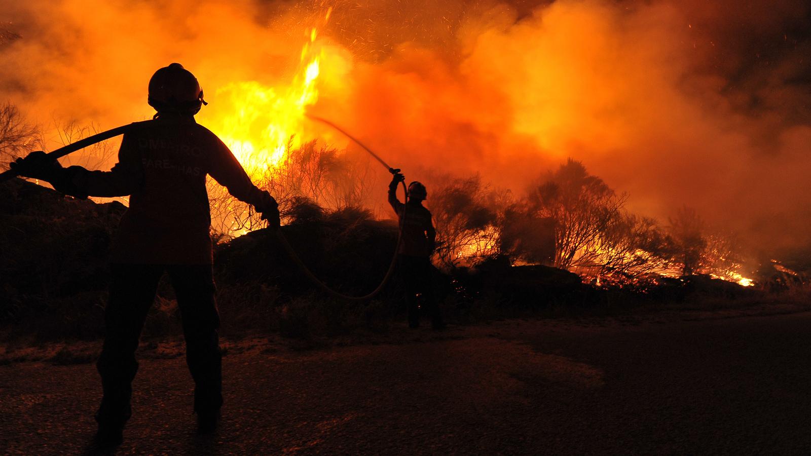 vítimas incêndios