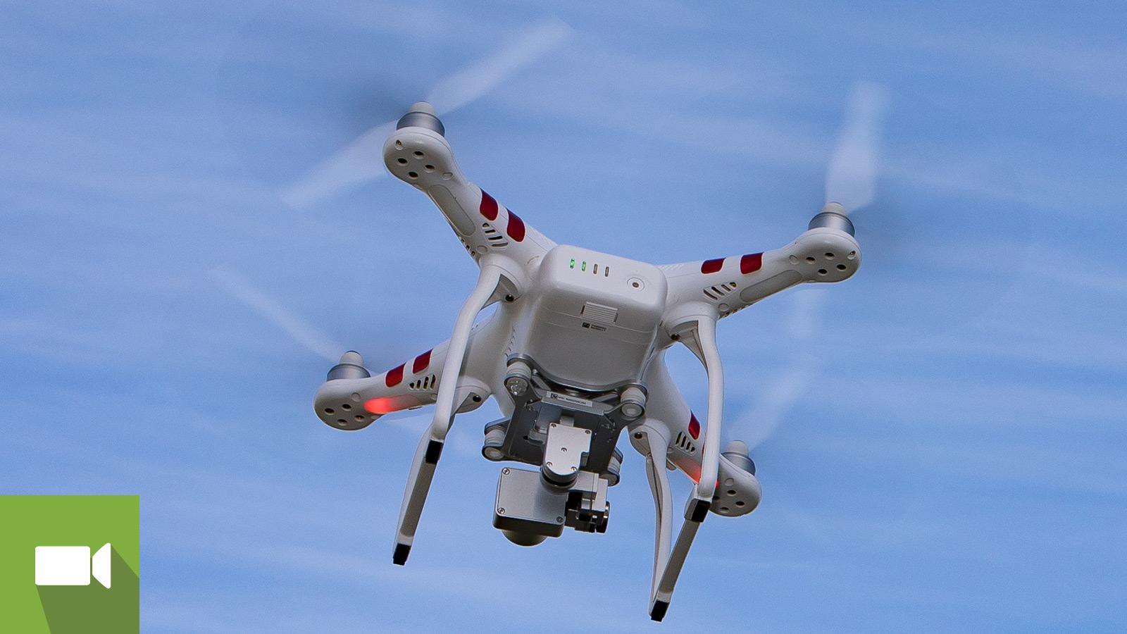 teste drones