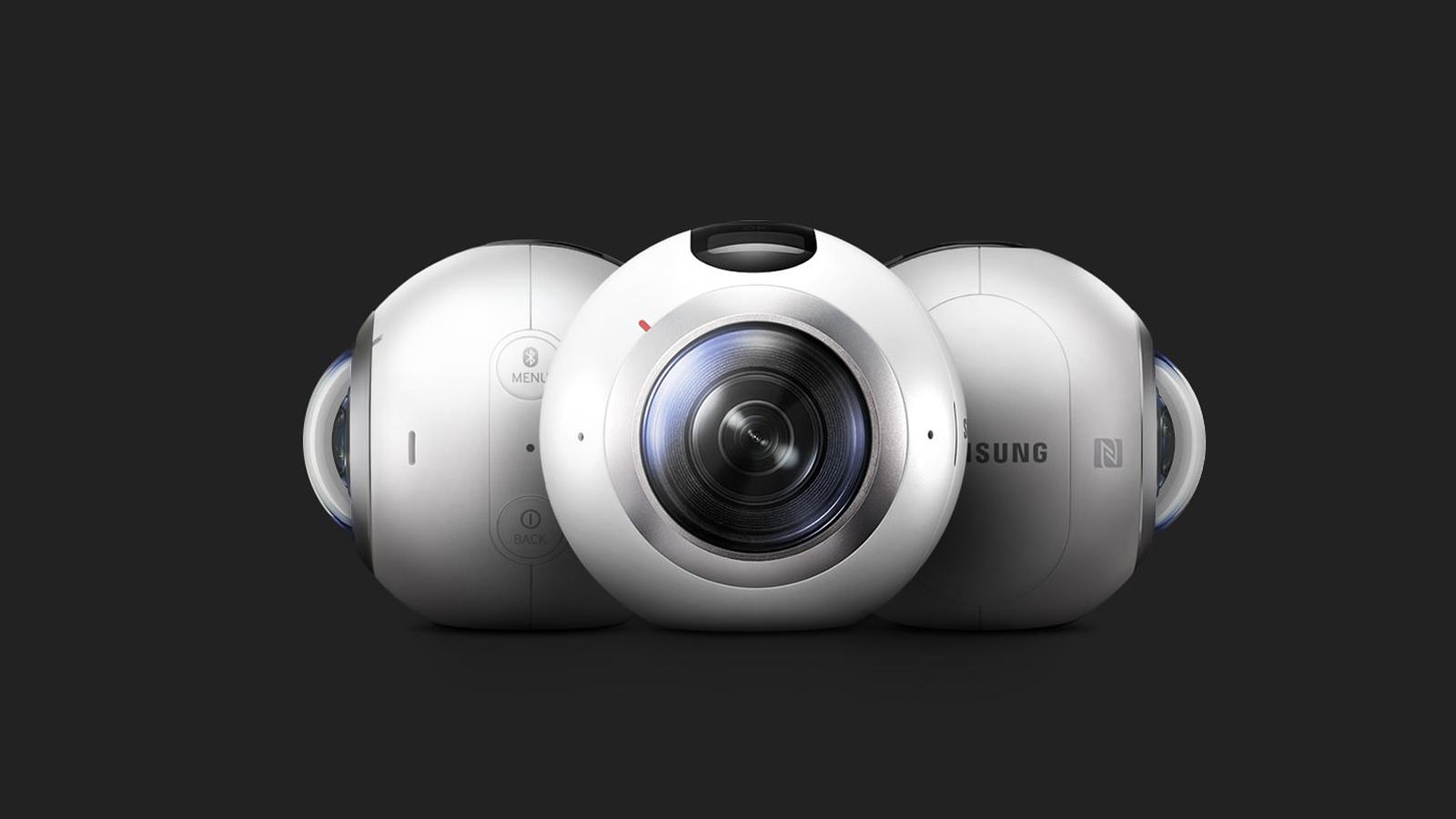 Samsung Gear inova com vídeos a 360°