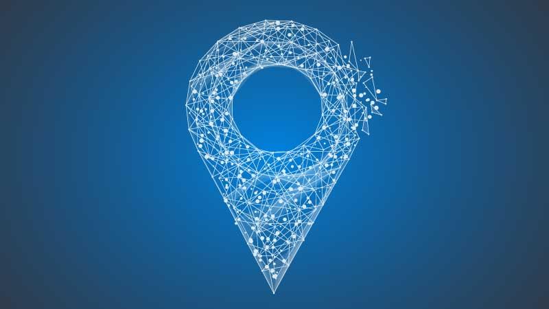 Símbolo qual rede com satélites