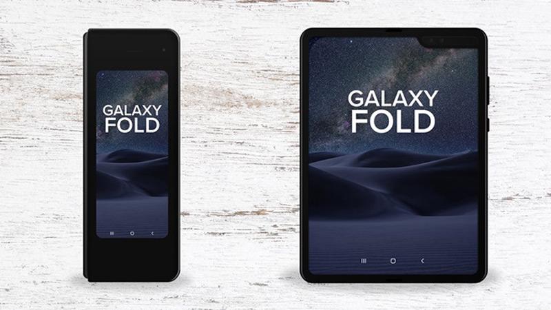 Telemóvel Samsung Galaxy Fold