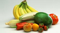 fruta e legumes na época ideal