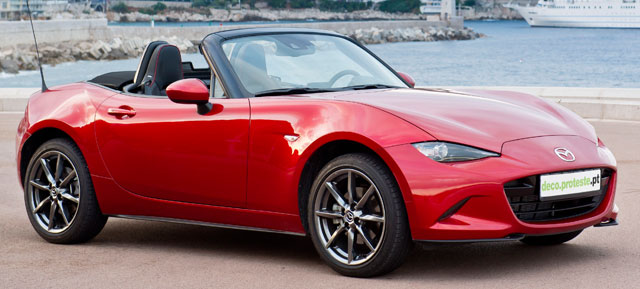 Mazda: conduzimos a 4.ª geração do MX-5
