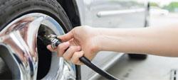 encher pneu com nitrogénio
