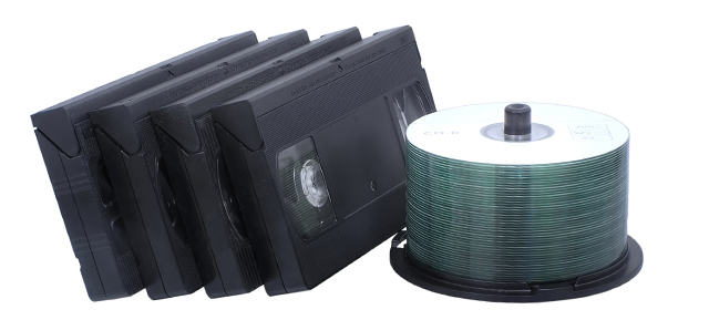 Saiba como passar para DVD os conteúdos que gravou em cassete de vídeo.