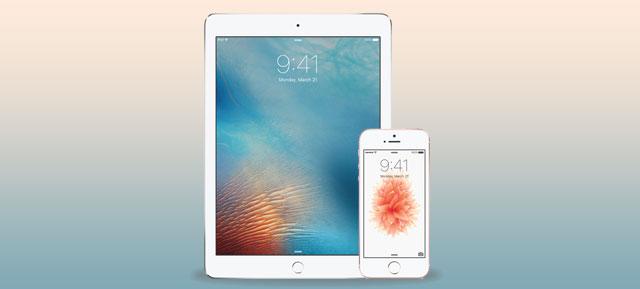 O iPhone SE e o novo iPad Pro, novos modelos de topo da Apple, foram apresentados a 21 de março.